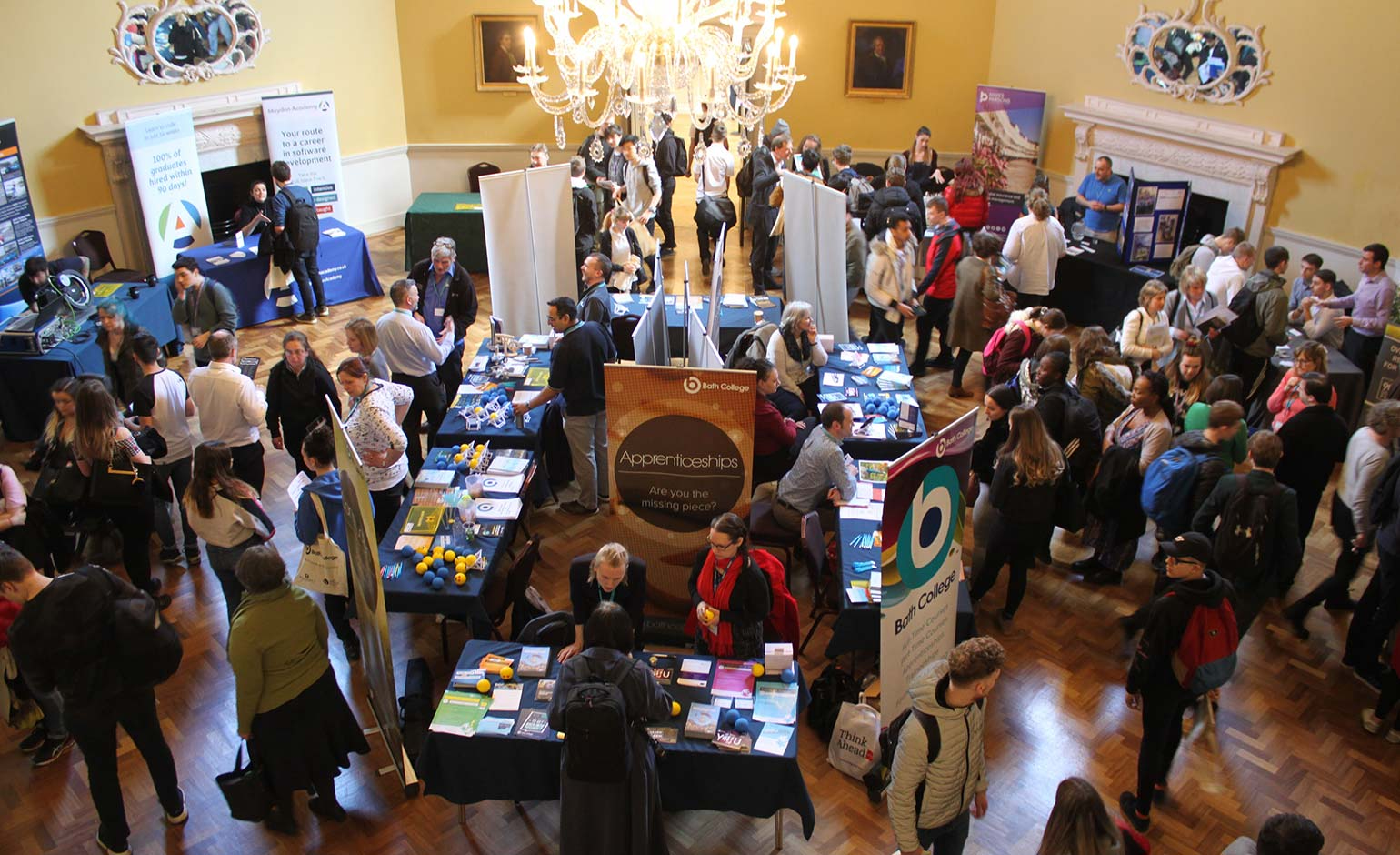 Young people invited to attend college's annual Apprenticeships and Jobs Fair