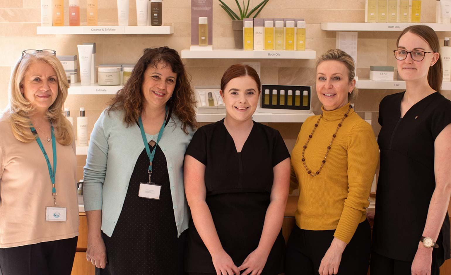 Lucknam Park launches spa progression programme with Bath College