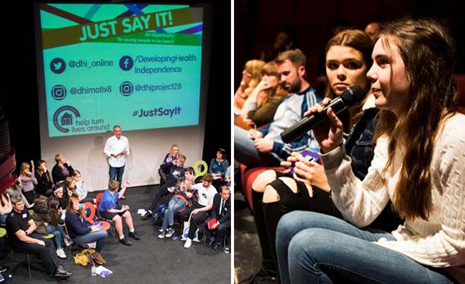 Youngsters take the opportunity to speak out at 'Just Say It' event in Bath