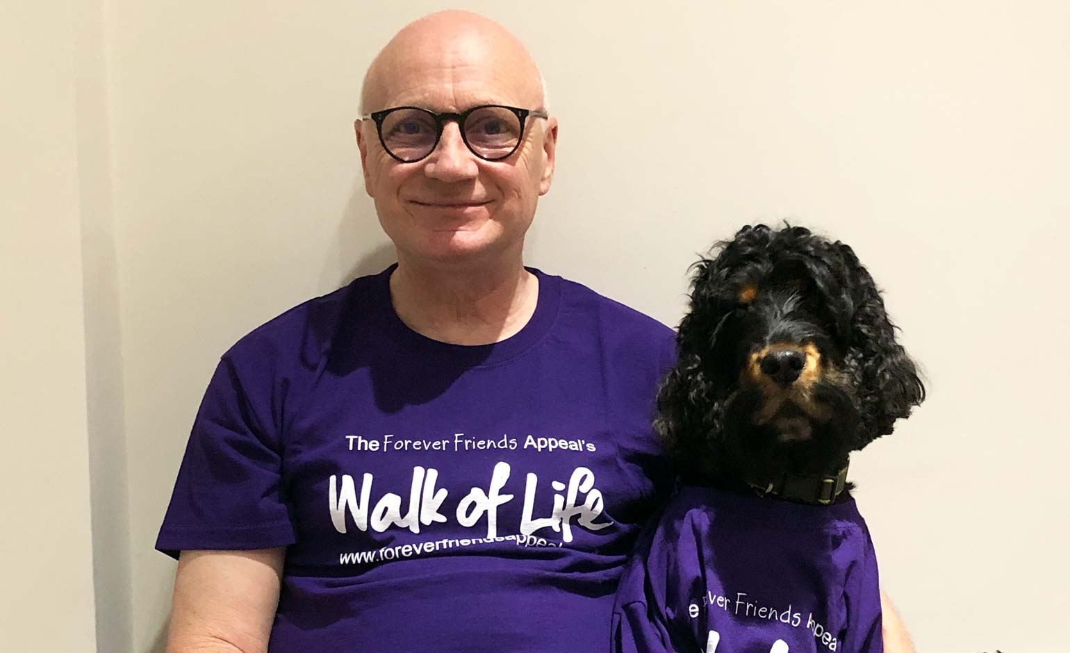 RUH's Chief Executive to join next month's Walk of Life fundraising event