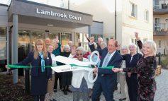 TV presenter Fred Dinenage opens new retirement development in Bath