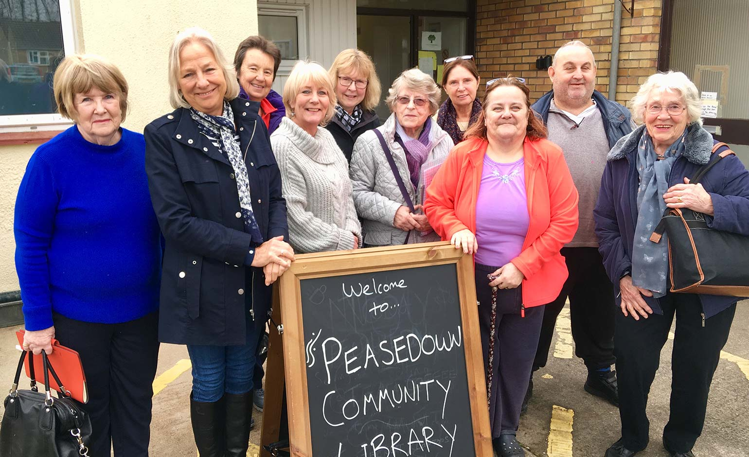 Peasedown St John community counts down to opening of new library
