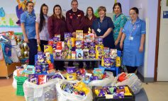 Over 250 Easter eggs generously donated to the RUH's Children's Ward