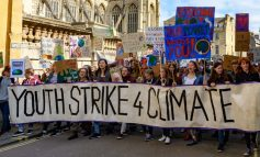 Youngsters take to the streets of Bath to demand action on climate change