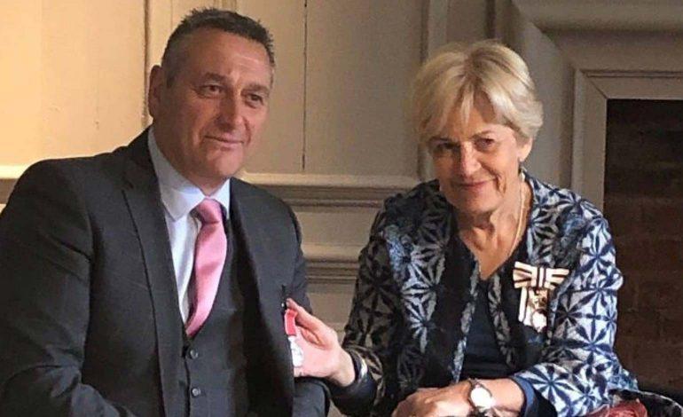 Popular former Bath police officer Adge Secker given British Empire Medal