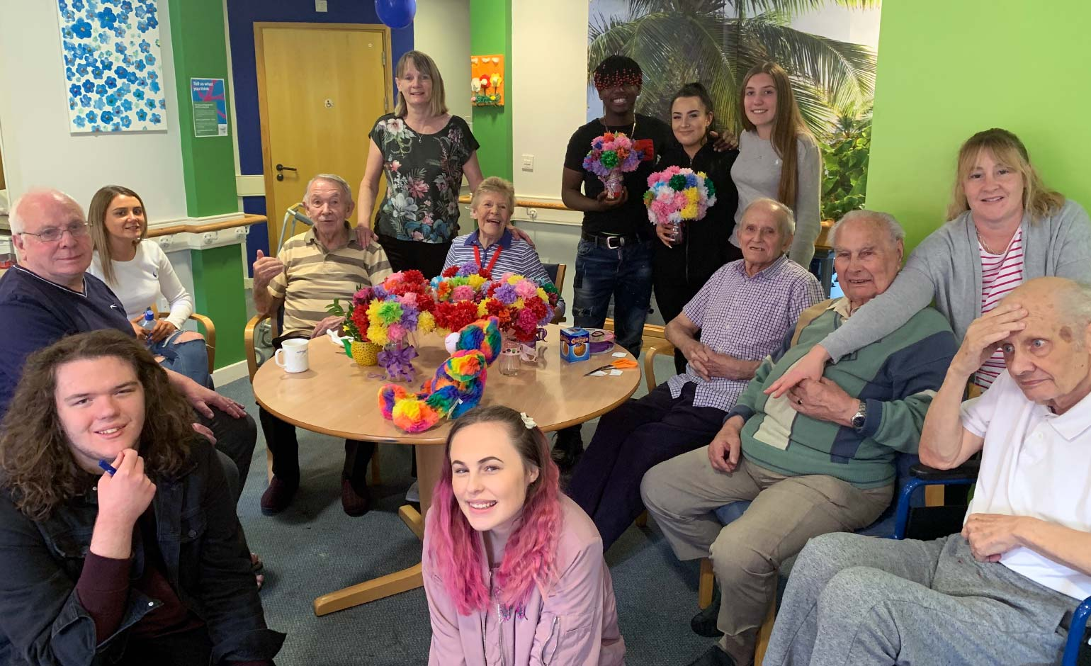 Bath College students mark Dementia Action Week with summer garden party