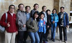 UK-based Chinese journalists make whistle-stop sightseeing visit to Bath