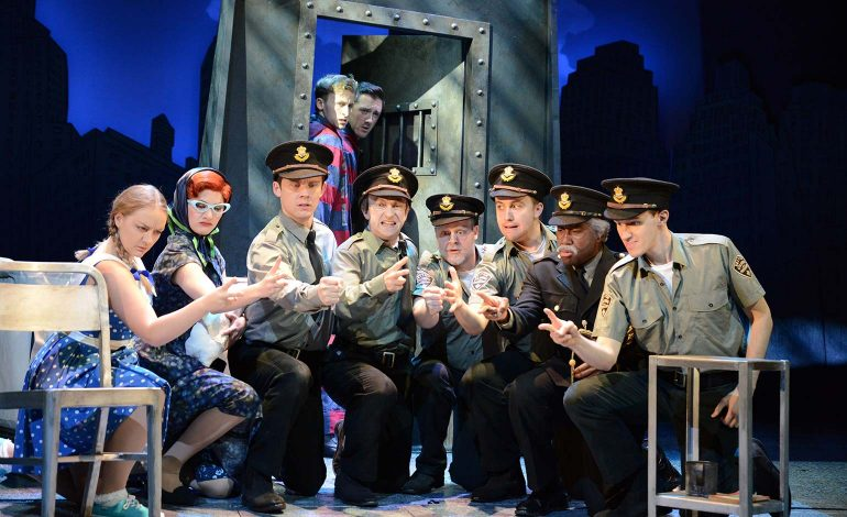 Review   The Comedy About a Bank Robbery - The Theatre Royal, Bath