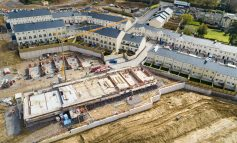 New family homes begin to take shape at Bath's Holburne Park development