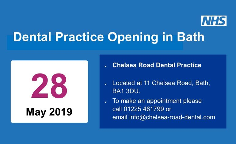 New Dental Practice On Chelsea Road In Bath Opens Its