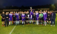 Charity football match between business rivals raises funds for cancer unit