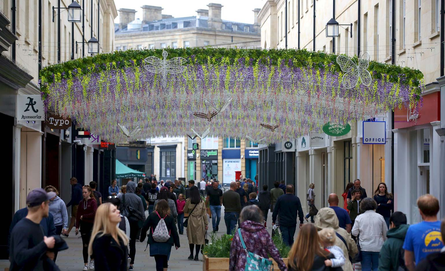 SouthGate unveils Secret Garden following last year's Wisteria Walk success