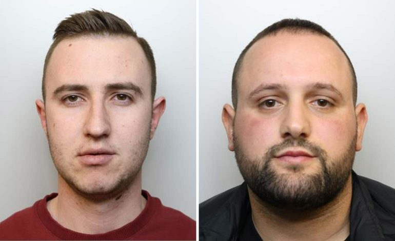 Two men from Bath jailed for nearly eight years after admitting drug offences