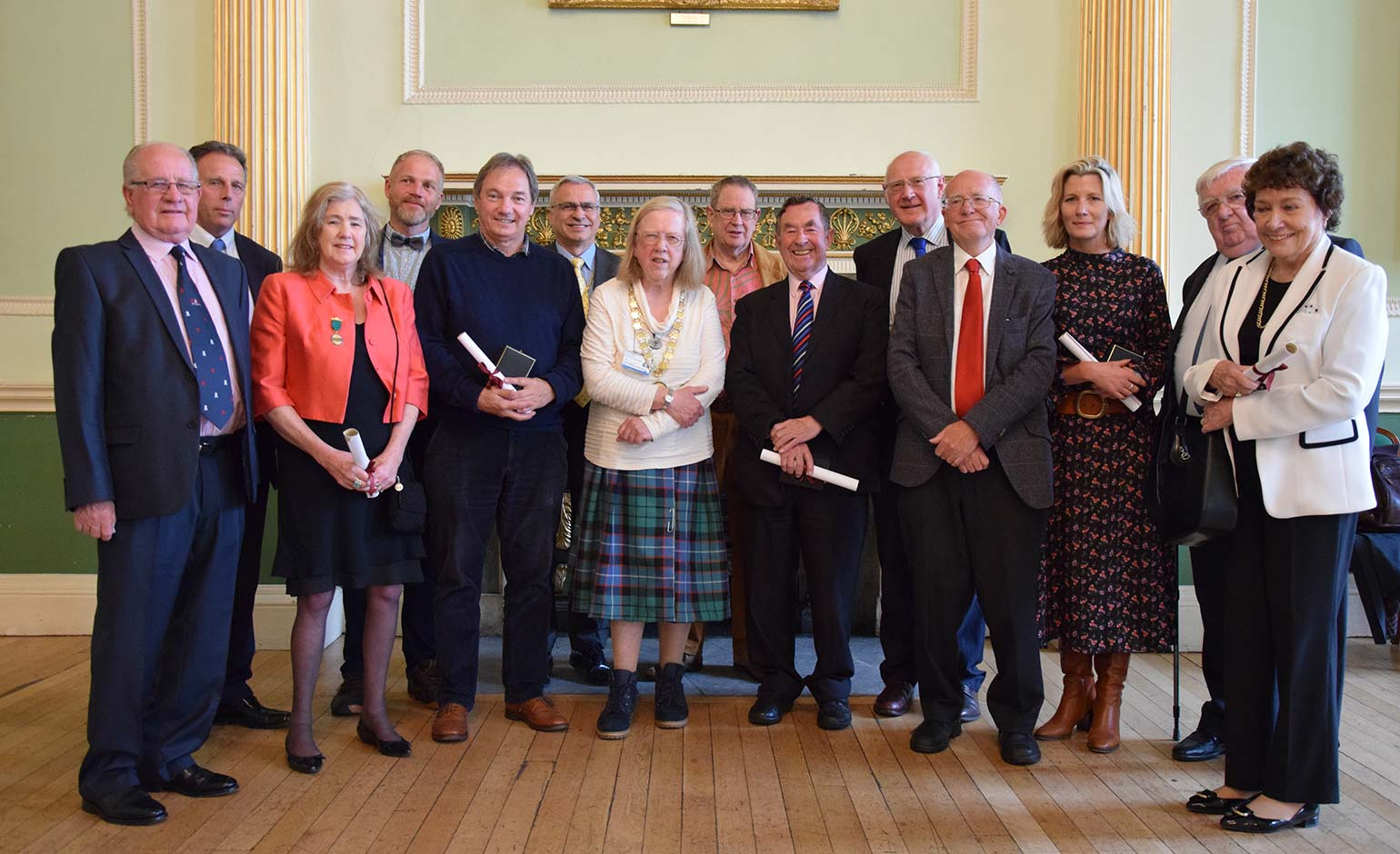Bath & North East Somerset Council honours long-serving former members | Bath Echo