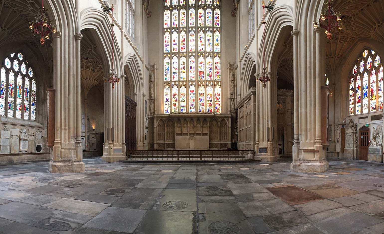 East end of Bath Abbey reopens following completion of first Footprint phase | Bath Echo