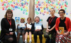 Local novelist celebrates reading scheme success with Bath schoolchildren
