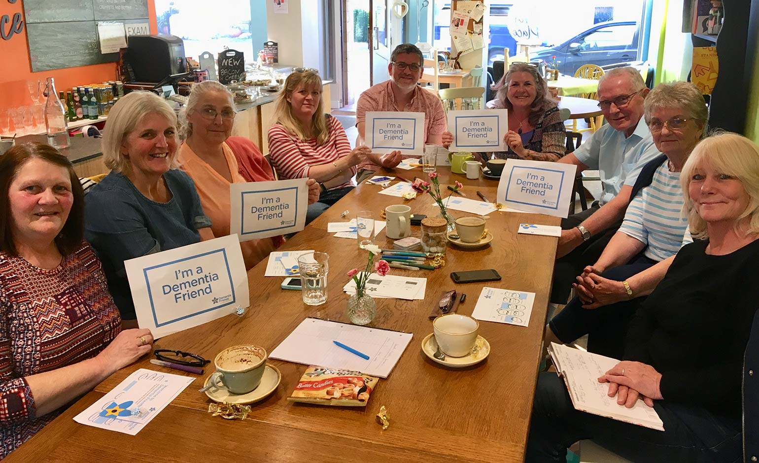 Peasedown St John businesses being asked to 'make a pledge for dementia'