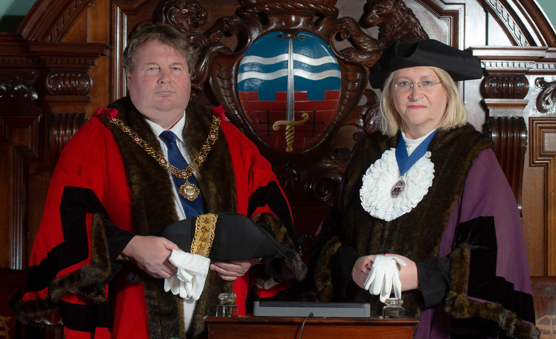 Councillor Gerry Curran appointed 792nd Mayor of Bath at special ceremony | Bath Echo