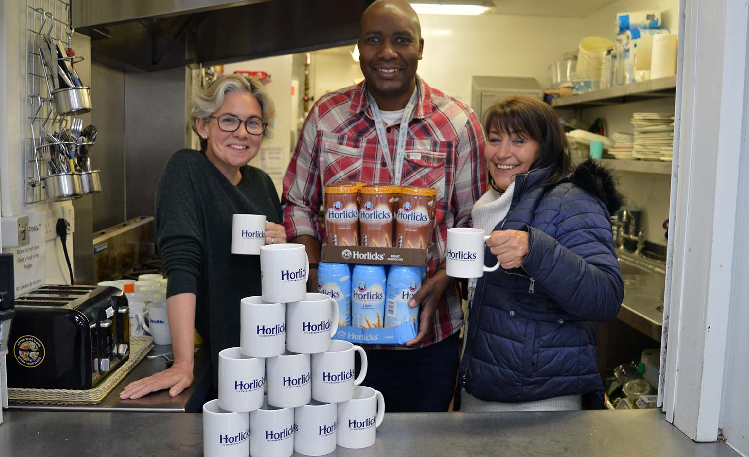 'Much excitement' at Julian House hostel thanks to special Horlicks donation | Bath Echo