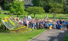 Special floral display in Bath marks Forever Friends Appeal's 20th anniversary