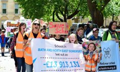 Hundreds take to the streets of Bath to march against school funding cuts