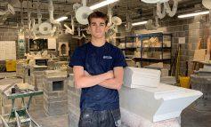 'Fantastic' Bath College stonemason to compete in Russia at WorldSkills 2019
