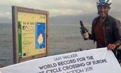 University of Bath psychologist smashes world record with solo bike ride