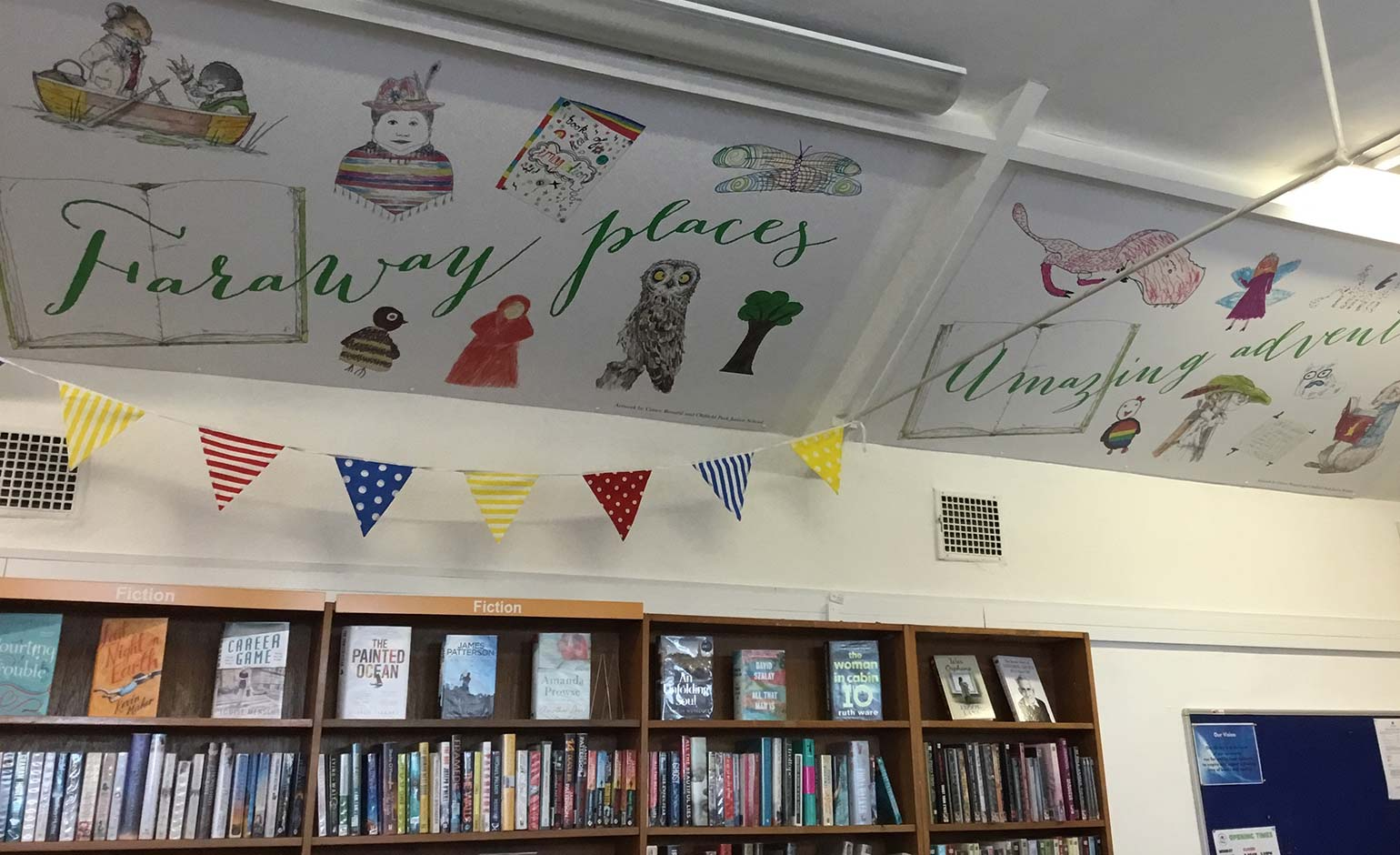 Moorland Road community library opens to the public with vibrant new look