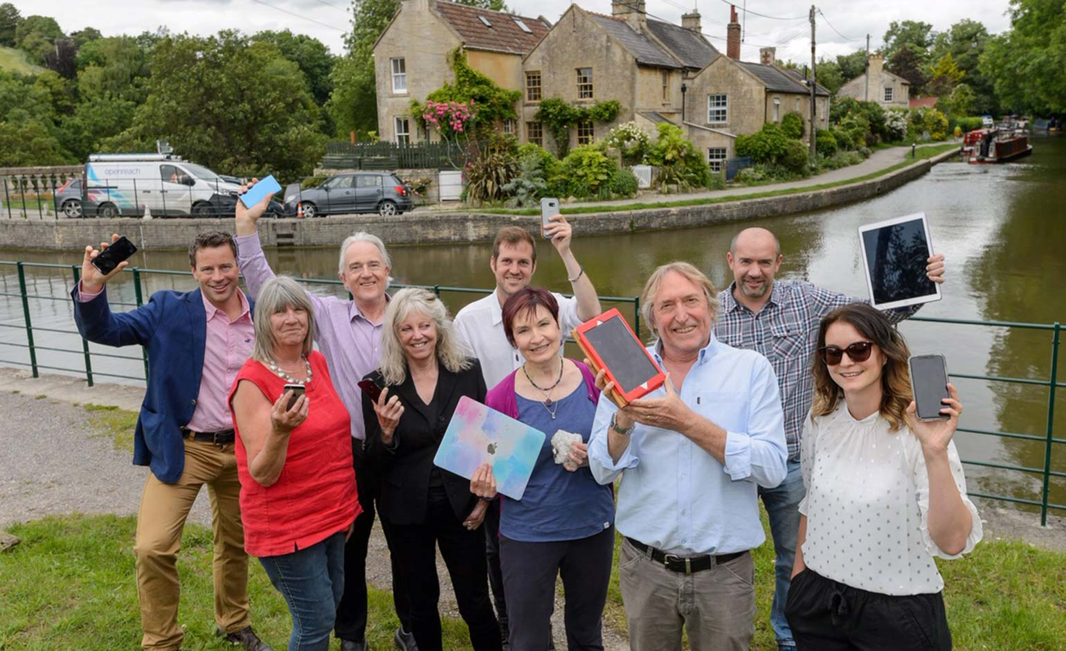 Rural homes and businesses celebrate high-speed broadband milestone