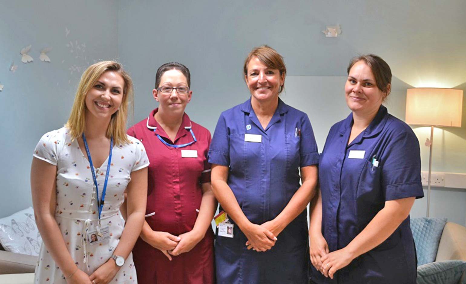 RUH storage room transformed into discreet space for relatives of patients