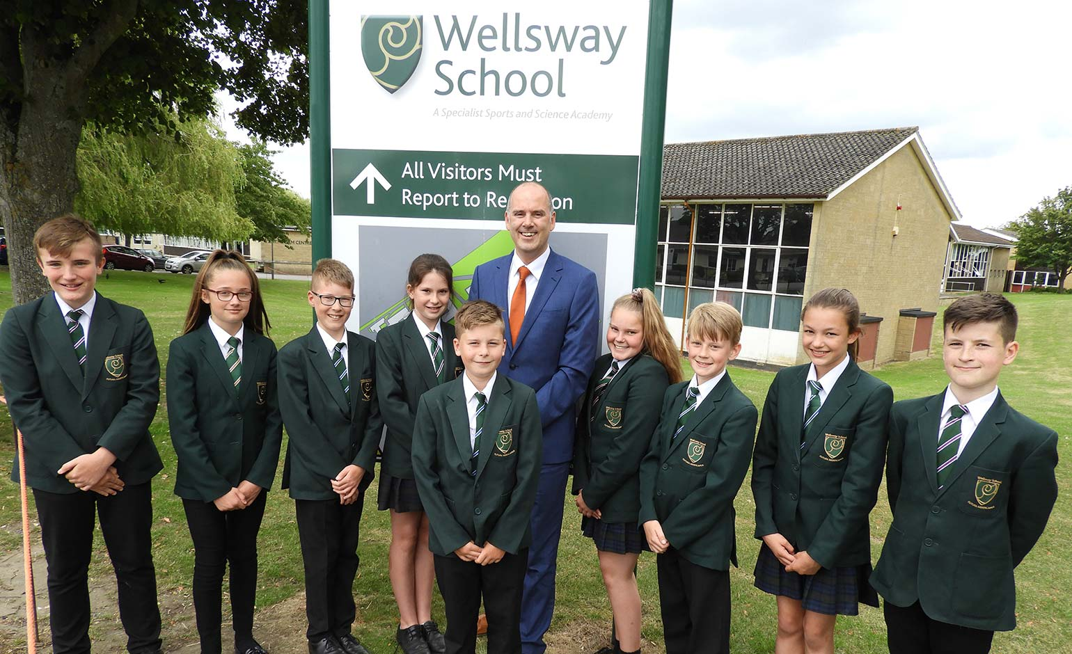 Wellsway School welcomes latest rating from Ofsted following inspection
