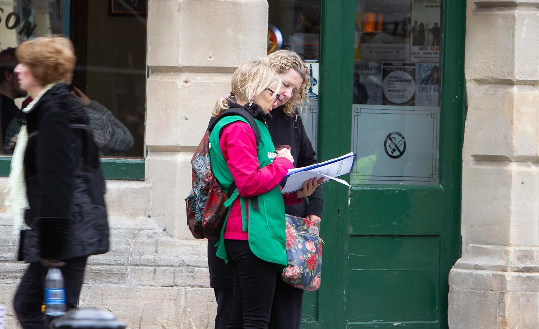 Bath Greenpeace group listens to views of residents across the city | Bath Echo
