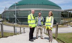 Bath MP Wera Hobhouse visits green gas plant at Wyke Farms in Somerset