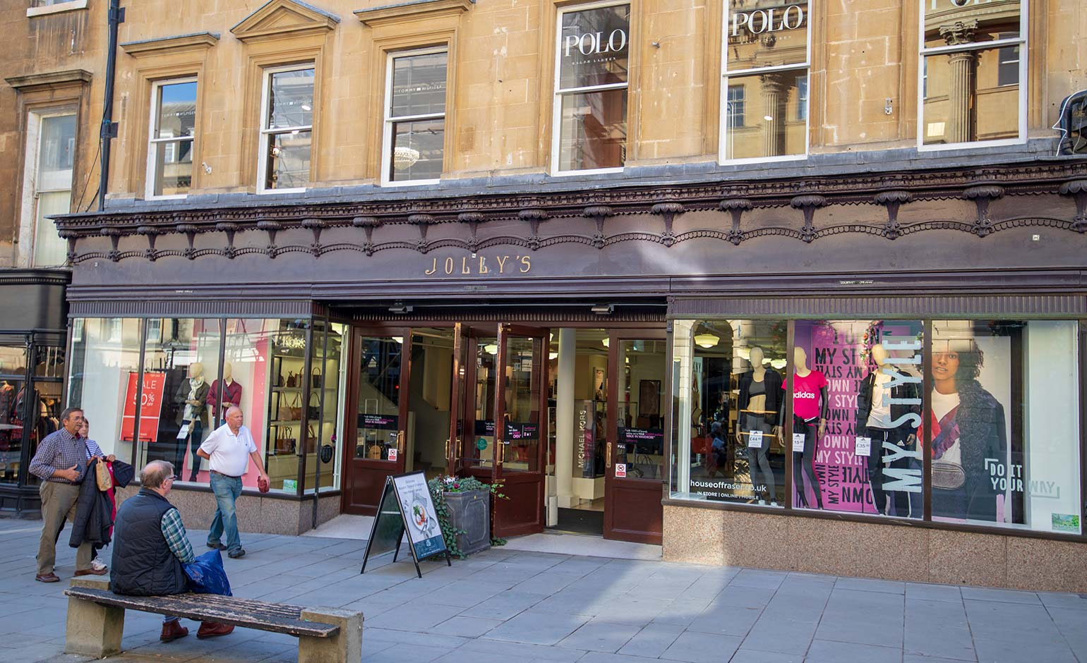 'Prospective tenant' found for Jolly's department store site on Milsom Street | Bath Echo