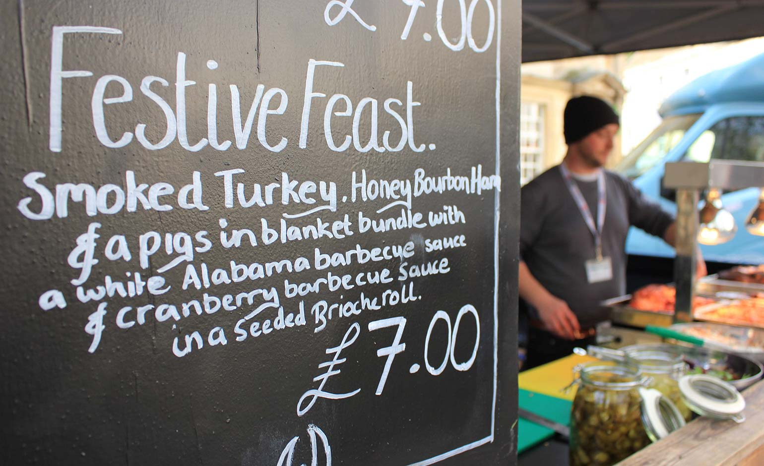 Festive street food market set to return to Kingsmead Square this November