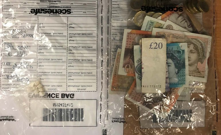 27-year-old man arrested after suspected city-centre drug dealing activity
