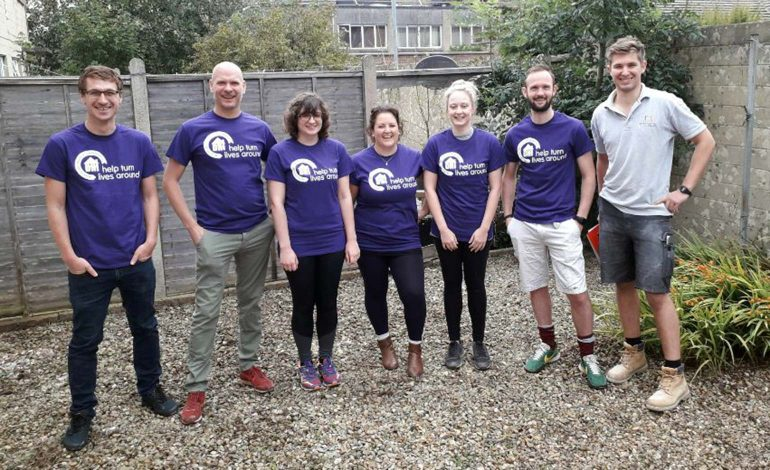 Touchstone partners with charity DHI to renovate home for Syrian family
