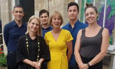 Bath MP Wera Hobhouse visits St Mungo's supported housing service