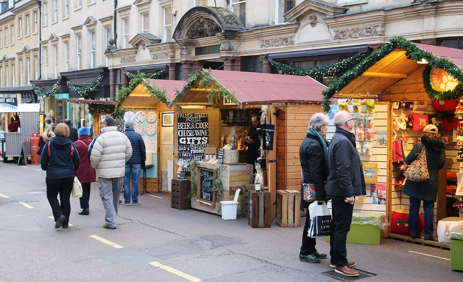 Plans for Bath Christmas Market's traders to return to Milsom Street this year | Bath Echo
