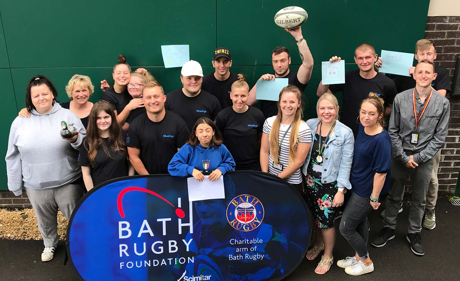 College teams up with Bath Rugby Foundation to boost youngsters' skills | Bath Echo