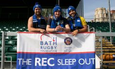 Countdown begins to Bath Rugby Foundation's annual sleep out fundraiser