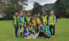 40 volunteers take part in business litter pick along the River Avon in Bath