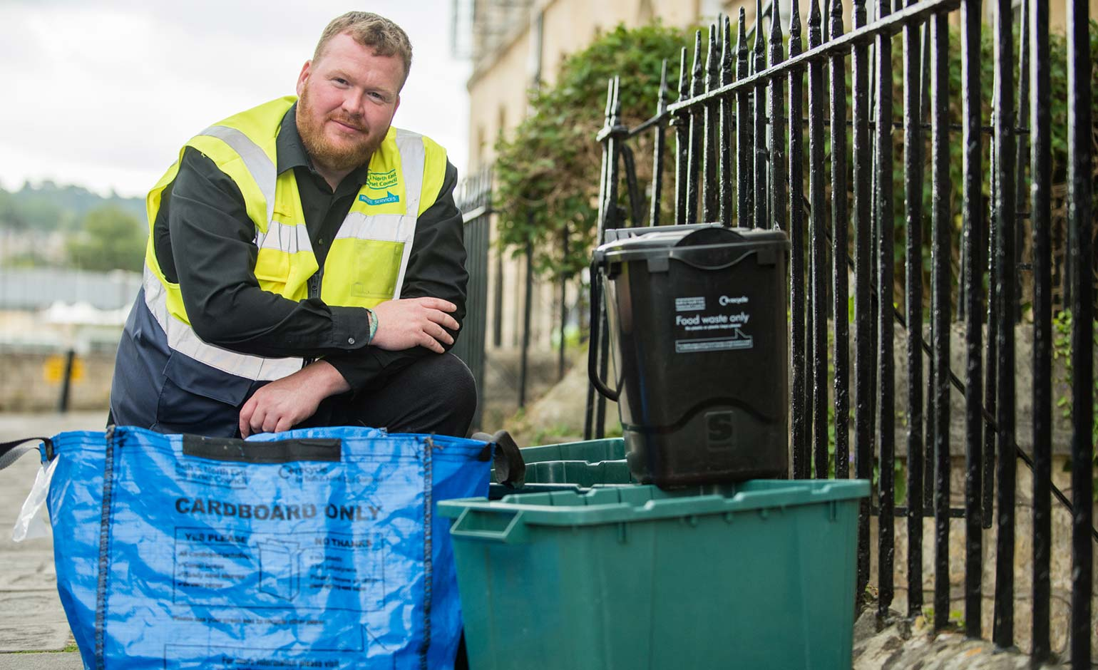 Local flats to be given kitchen caddies ahead of food waste collection rollout | Bath Echo