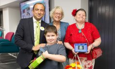 Six-year-old crowned joint winner of inaugural Curo Community Hero Award