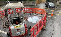 Delays along London Road as Wessex Water deals with damaged water main