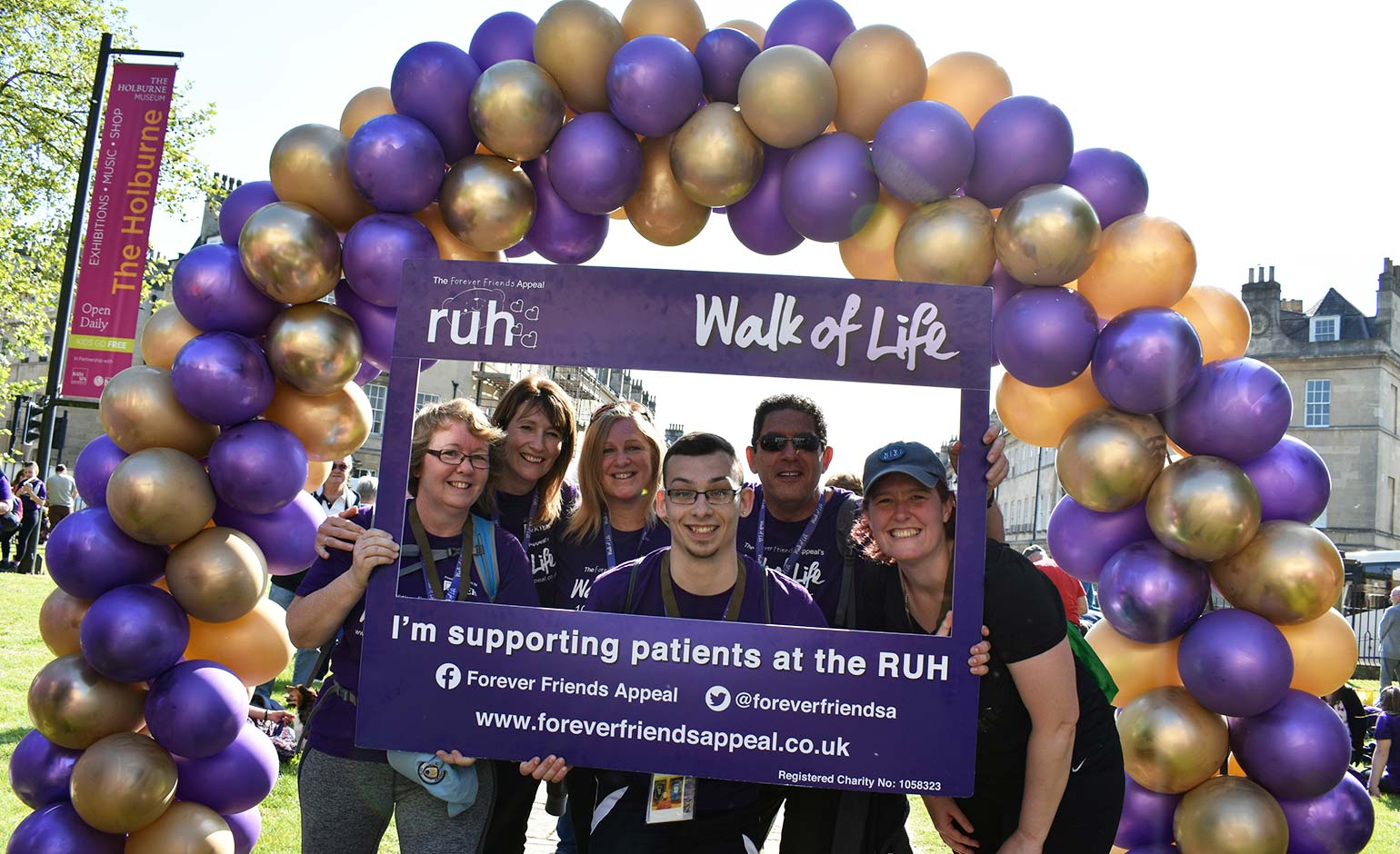 Places now available for RUH's next annual marathon charity canal walk