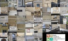 Conservation and restoration of Bath's street signs wins national award