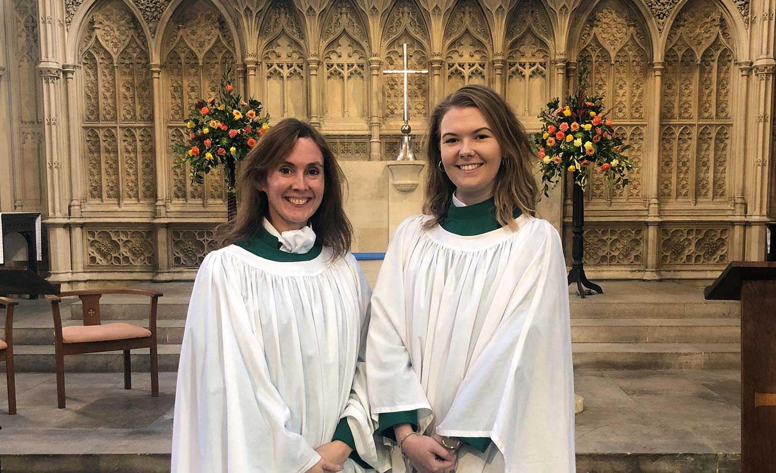 Bath Abbey Choir announces appointment of first adult female choristers
