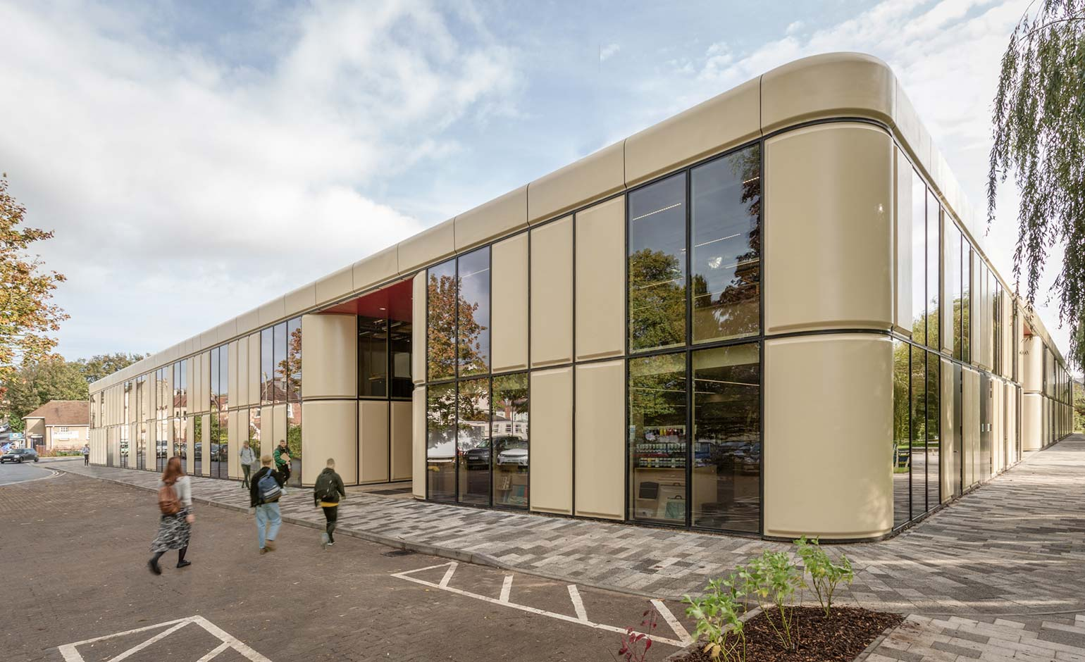 Bath Spa University's new Locksbrook Campus opens its doors to students