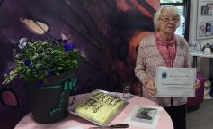Two awards for Home Library volunteer after 40 years of longstanding service